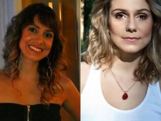 Aline Fanju: antes e depois