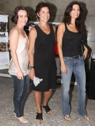 Helena Ranaldi, Ângela Vieira e Flávia Monteiro