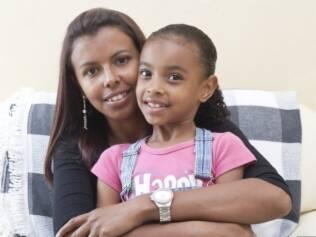 Fabiana, mãe de Isabela, de oito anos: