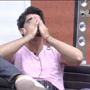 Rodrigão confessa já não aguentar mais o comportamento do brother Diogo
