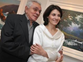 Chico Anysio com a mulher, Malga di Paula