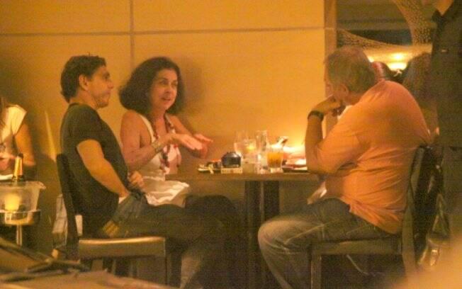 Betty Faria e Guilherme Leme