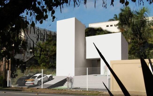 A residência AG do arquiteto André Becker Pennewaert recebeu menção honrosa na categoria Edifício - Projetos