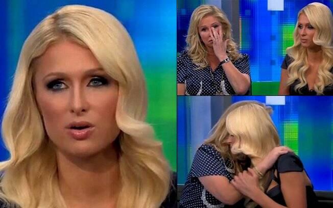 Paris Hilton em entrevista com Piers Morgan diz que não quer ser lembrada por video de sexo