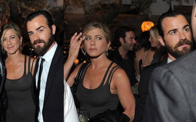 Jennifer Aniston e Justin Theroux