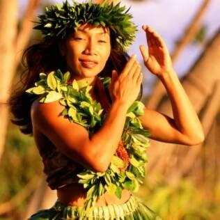 Dançarina de hula