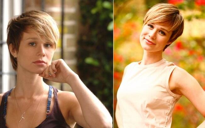 O corte de cabelo que Mariana Ximenes fez para interpretar Lara, em A Favorita, se transformou em um dos mais pedidos nos salões