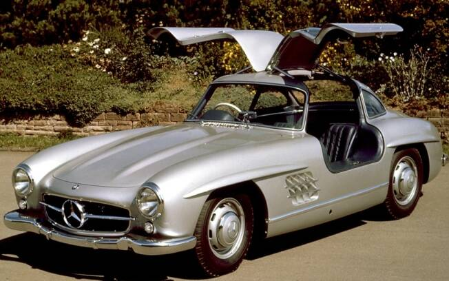 mercedes benz 300 sl papillon 1955 m quinas ig. Black Bedroom Furniture Sets. Home Design Ideas