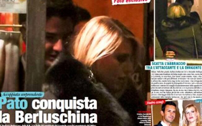 Pato e Barbara Berlusconi deixam um restaurante: é namoro!