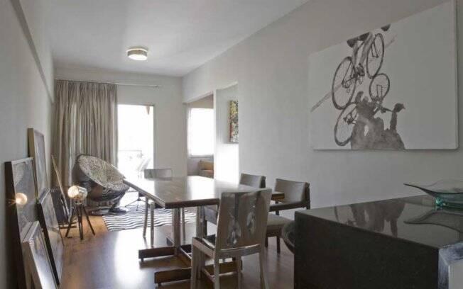 Estilo Jovem e mistura de estilos no apartamento projetado pelo escritório de arquitetura Szabó e Oliveira Arquitetura