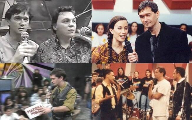 Serginho Groisman começou a carreira na TV com o programa
