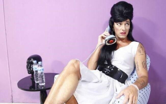 Rodrigo Faro encarna a Amy Winehouse em