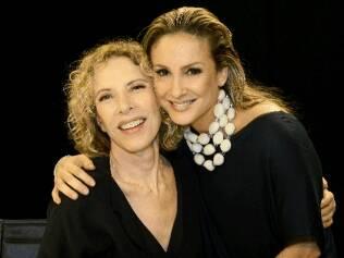 Marília Gabriela recebe Claudia Leitte em seu programa