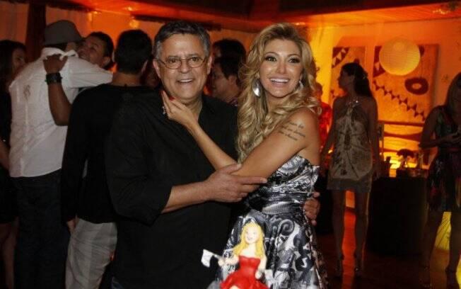 Marcos Paulo com a mulher, Antônia Fontenelle