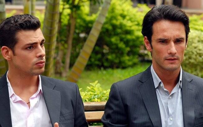 Cauã Reymond e Rodrigo Santoro em