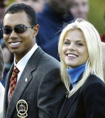 bac40aee6 ...  span Tiger Woods e sua ex-mulher Elin Nordegren  span  ...