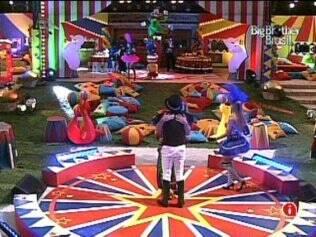 Circo é tema da festa no reality