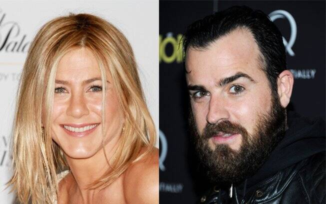 Jennifer Aniston e o ator Justin Theroux