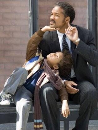 Pai e filho no filme