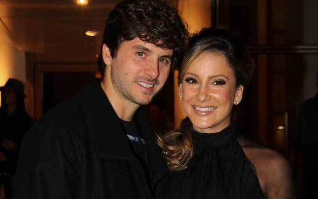 Claudia Leitte com o marido Márcio Pedreira