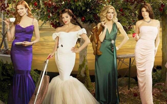 Marcia Cross, Eva Longoria, Felicity Huffman e Teri Hatcher, o elenco de