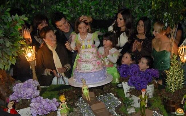 Rodrigo Faro comemorou o aniversário das filhas Clara e Maria nessa sexta-feira (17)