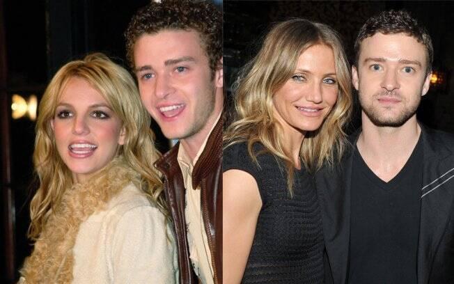 Britney Spears e Justin Timberlake - Cameron Diaz e Justin Timberlake