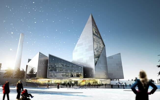 Ingels ganhou o concurso para construir o prédio da prefeitura de Tallinn, na Estônia. O projeto prevê muita transparência e luz natural