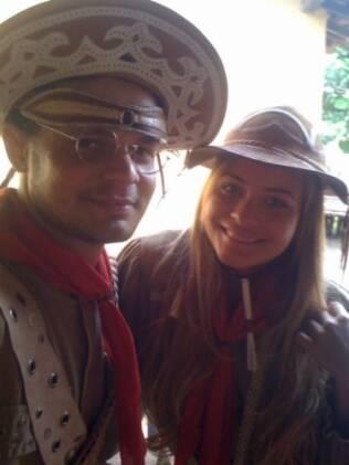 Geisy Arruda e Aluísio Jr.