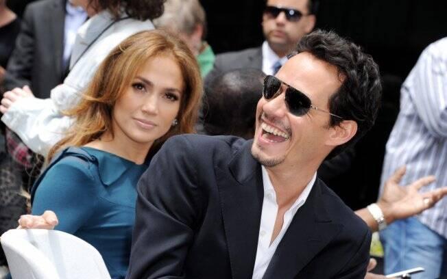 Antes de decretar o fim de seu terceiro casamento, Jennifer Lopez e o cantor e compositor americano Marc Anthony, pai dos gêmeos Max e Emme
