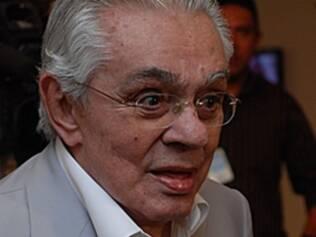 Chico Anysio no Projeto Risadaria, em março de 2010
