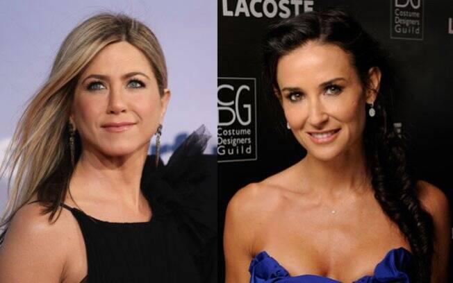 Jennifer Aniston e Demi Moore: projeto coletivo