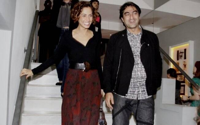 Camila Pitanga e Zeca Camargo