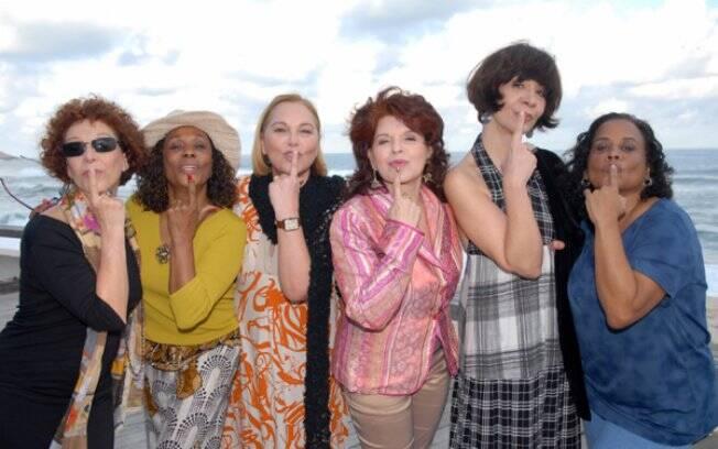 As Frenéticas em 2011: Lidoka, Dhu Moraes, Regina Chaves, Leiloca, Sandra Pêra e Edir de Castro