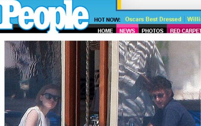 Scarlett Johansson e Sean Penn: escapada rápida para o México