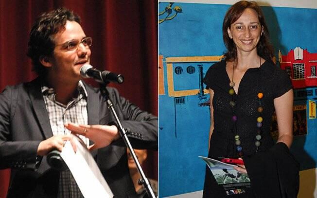 Wagner Moura e Laís Bodansky