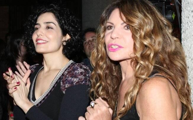 Letícia Sabatella e Elba Ramalho, que cantou ao lado de Martnália