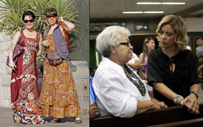 Fernanda Young e Camila Machado em cena; Astrid no aeroporto de Guarulhos: novos desafios