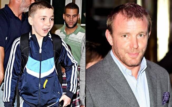 Rocco e Guy Ritchie: filho de Madonna está cada vez mais parecido com o pai