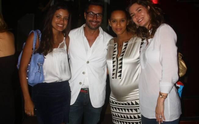 Ildi Silva, Fernando Torquatto, Taís Araújo e Lavínia Vlasak
