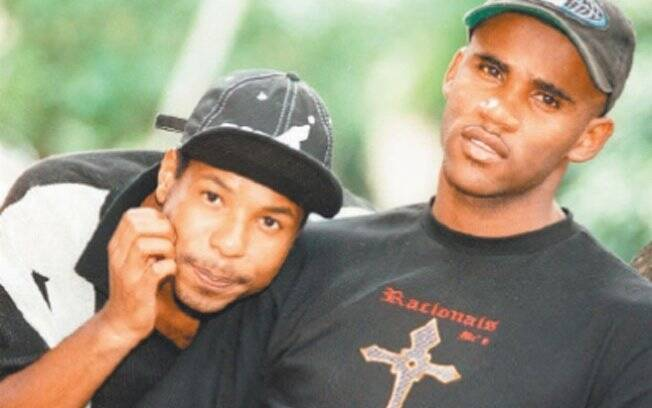 Buchecha e Claudinho, morto em 2003