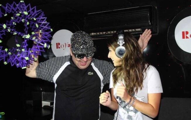 Fernanda Paes Leme e DJ Zé Pedro
