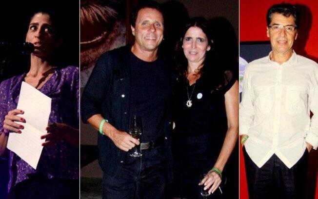 Cynthia Howlett, Malu Mader, Tony Bellotto e Paulo Betti