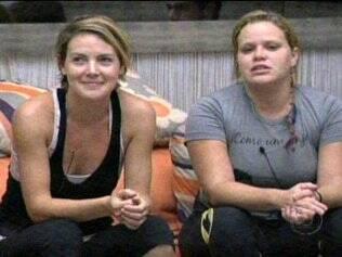 Diana e Paulinha conversam com Bial
