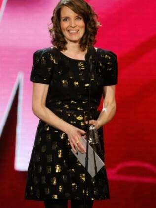 A roteirista e comediante Tina Fey