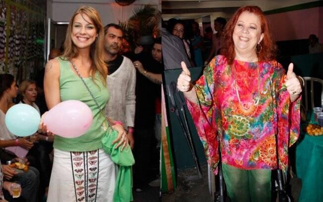 Luana Piovani e Beth Carvalho