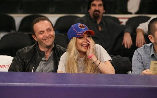Lindsay Lohan e o amigo Pascal Mouawad