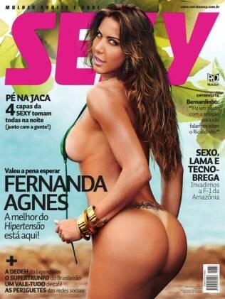 Capa da Sexy com Fernanda Agnes