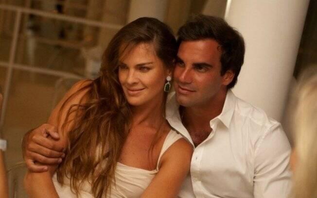 O casal Letícia Birkheuer e Alexandre Furmanovich: papais de primeira viagem