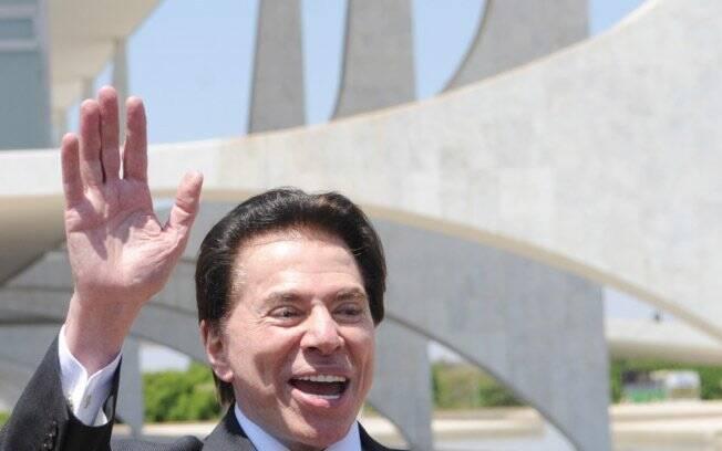 Silvio Santos: mesmo sem se reinventar, está sempre na mídia